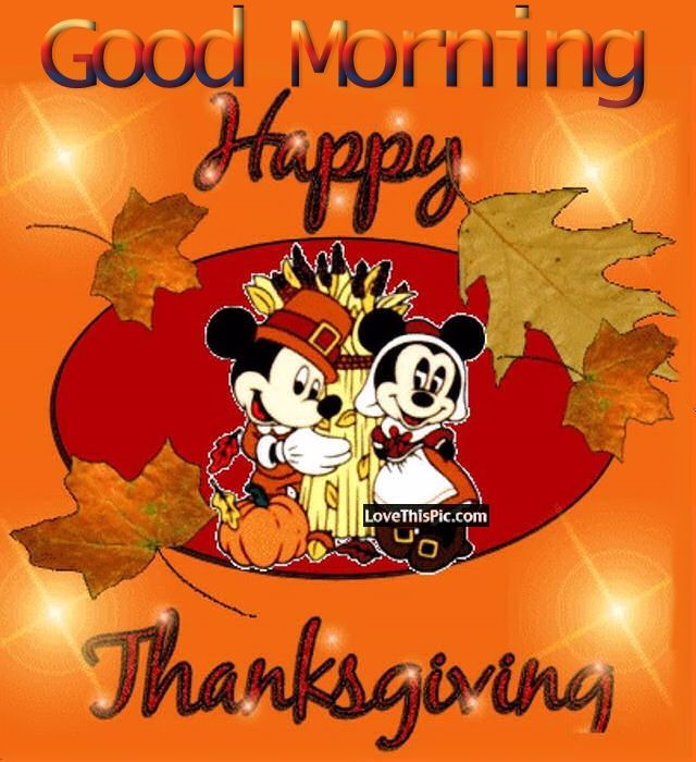 Good Morning Thanksgiving day Image