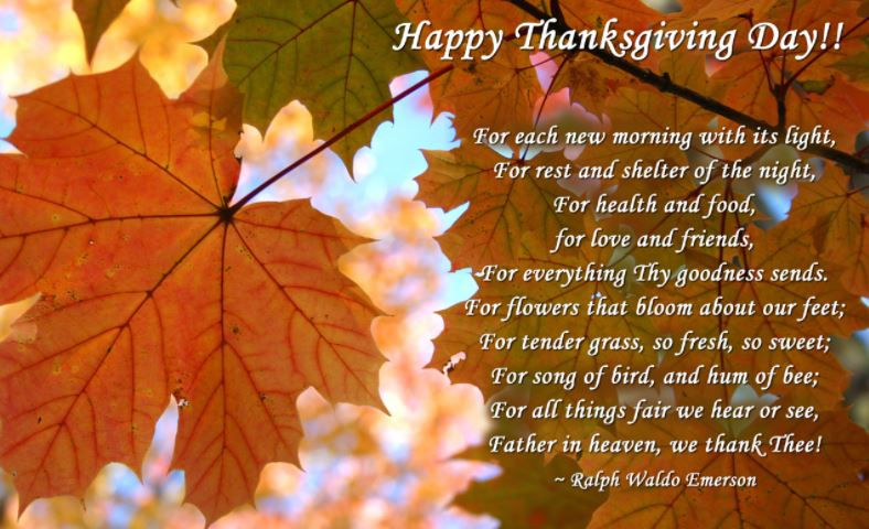 Happy Thanksgiving Day Quotes Images for Friends