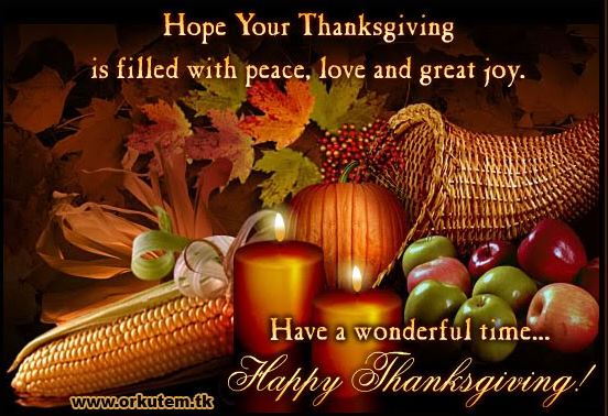Happy Thanksgiving Quotes to Friends
