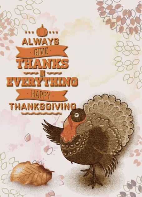 Happy Thanksgiving Greetings Wishes to Clients, Employees, Coworkers