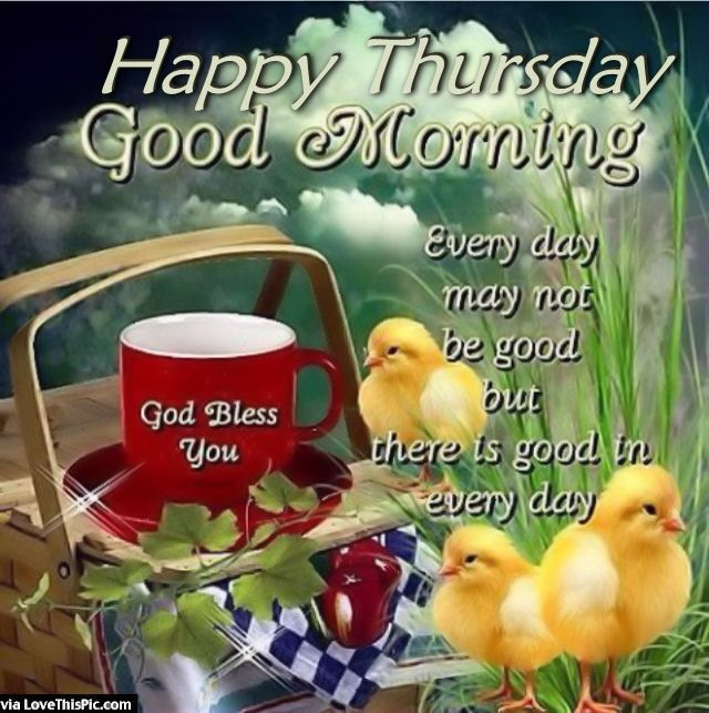 Happy Thursday Good Morning Images and Quotes