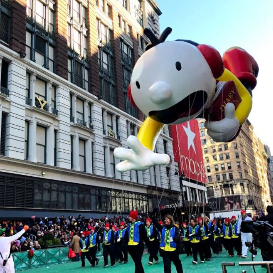 Macy's Thanksgiving Day Parade 2017 Balloons Pictures Image-22