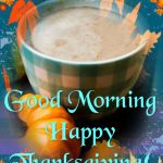 Morning Thanksgiving Coffee Image