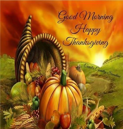 Morning Thanksgiving Image