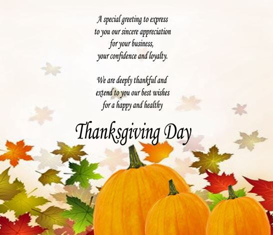 Thanksgiving Greetings Cards Hy