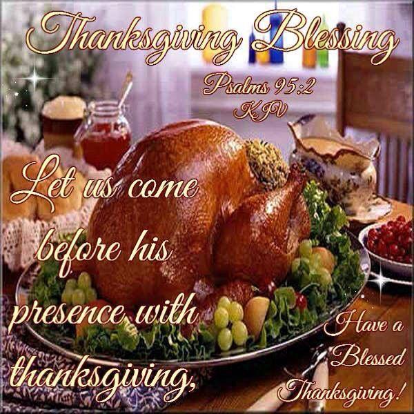 Thanksgiving Morning Blessing Prayer Quotes Image