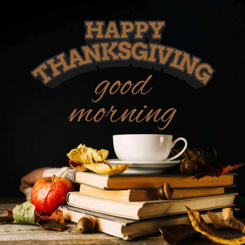 Thanksgiving Morning Coffee Image