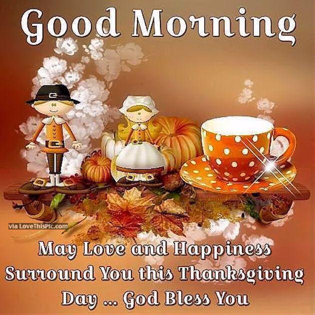 Thanksgiving Morning Images