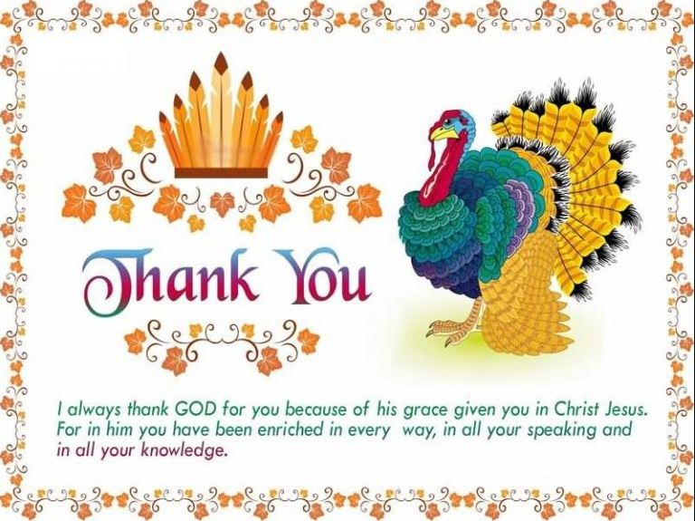 Thanksgiving Quotes and Sayings for Facebook and Whatsapp