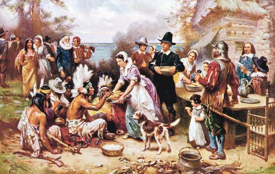 First Thanksgiving Origin History and Story