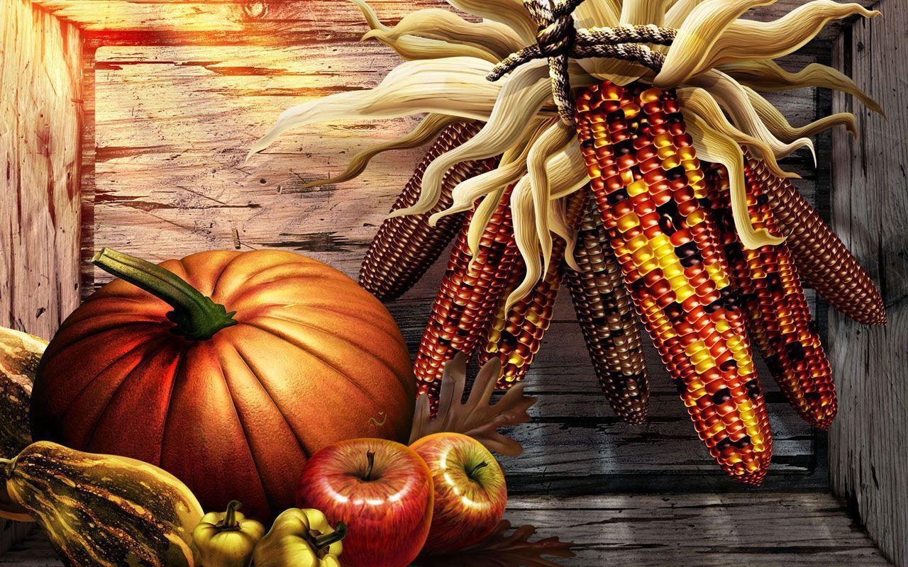 Happy Thanksgiving Computer Wallpaper Image