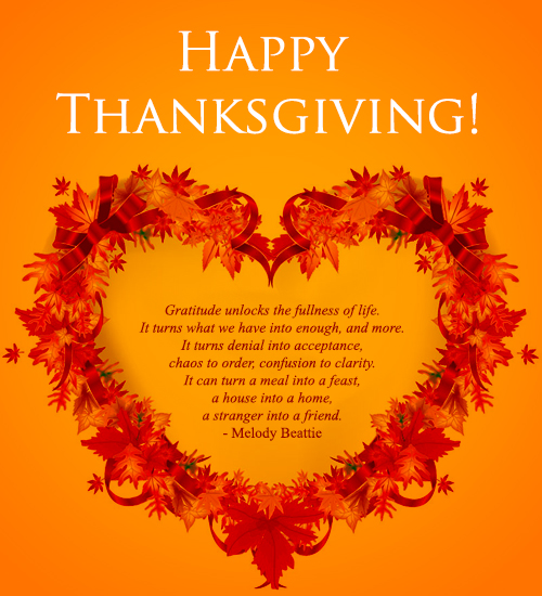 Happy Thanksgiving iPhone Wallpaper