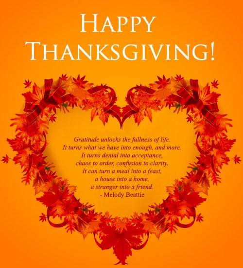 Happy Thanksgiving iPhone Wallpaper