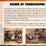 Origin of Thanksgiving- When was the First Thanksgiving