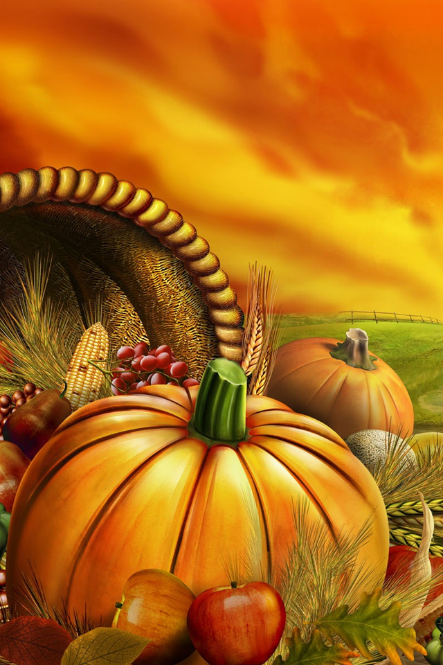 Thanksgiving iPhone Wallpaper