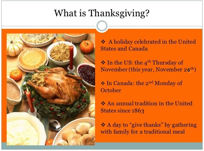 What is Thanksgiving Meaning and Facts